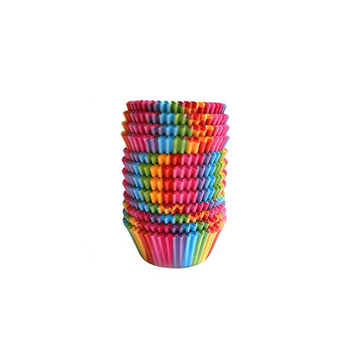 - Warm party Baking Cups Cupcake Liners, Standard Sized, 300 Count (Rainbow),