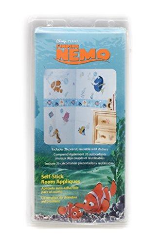 Self Applique - Blue Mountain Wallcoverings GAPP1756 Finding Nemo Self-Stick Room Appliqués