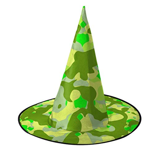 SDBUYW-ZQ Camouflage USA Marine Corps Unisex Witch Hat Halloween Costume ()