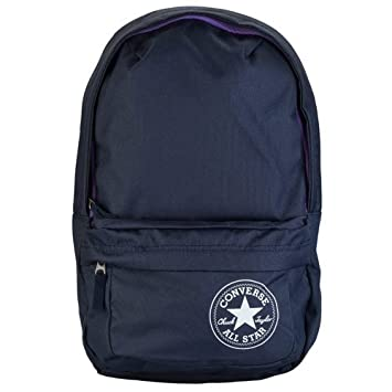New Converse All Star Backpack School Bag Rucksack Navy Purple   Amazon.co.uk  Luggage 7ad0210931