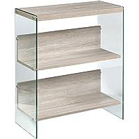 OneSpace 50-JN19BK3LO Escher Skye Bookshelf, Light Oak