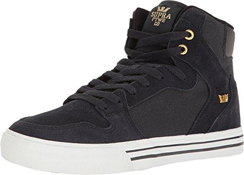 Supra Unisex Vaider Midnight/White Athletic Shoe (Skateboarding Supra)