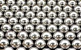 100 1/2 inch Diameter Carbon Steel Bearing Balls G40 Ball Bearings Half inch Pack (100) VXB Brand