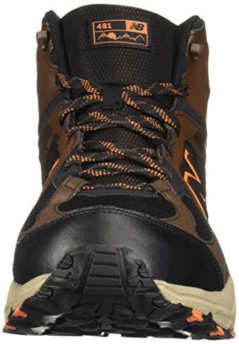 New Balance Men's 481 V3 Cushioning Trail Running Shoe, Adrift/Black/Mercury, 9.5 D US by New Balance (Image #4)