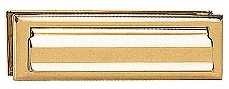Standard Mail Slot,Letter Size,Brass