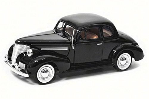 Motor Max 1939 Chevy Coupe, Black 73247AC - 1/24 Scale Diecast Model Toy Car