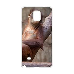 Orangutan Phone Case, Only Fit To Samsung Galaxy Note 4
