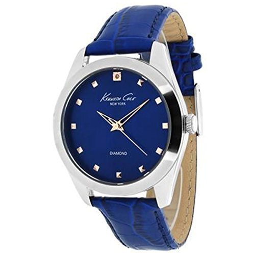 Kenneth Cole New York Three-Hand Leather - Blue Women's watch #KC2863/10014603