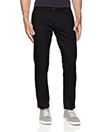 Dockers Pantalón Negro Slim Tapered Pantalones para Hombre