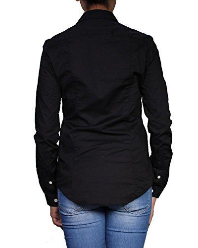 BURBERRY - Camisa para Mujer Slim Fit (GPL 69030) - negro, S