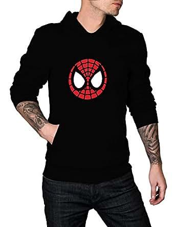 Mens Marvel SpiderMan Homecoming Logo Hoodie   Black, S