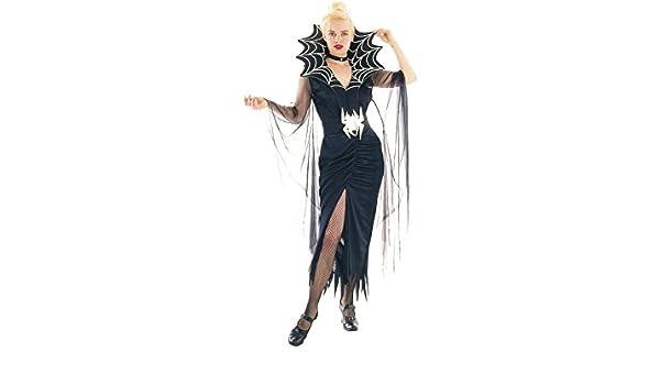 DISONIL Disfraz Araña Siniestra Mujer Talla L: Amazon.es: Juguetes ...