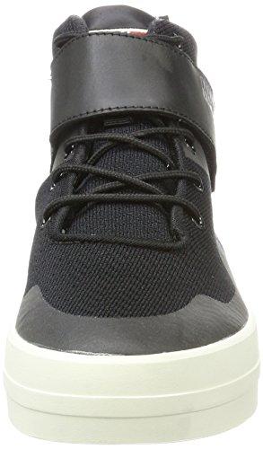 Napapijri Dahlia, Baskets Hautes Femme Schwarz (Black)