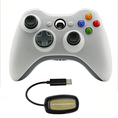 ANAN Controller Gamepad, Wireless Controller for Xbox 360, 2.4Ghz Wireless Connection Game, Ergonomic Design for…