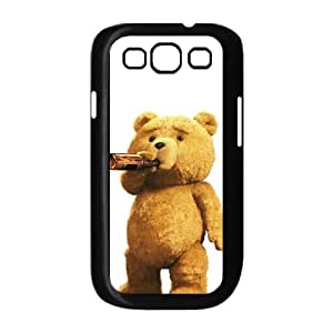 Samsung Galaxy S3 9300 Cell Phone Case Black Ted WHO Personalized 3D Phone Case