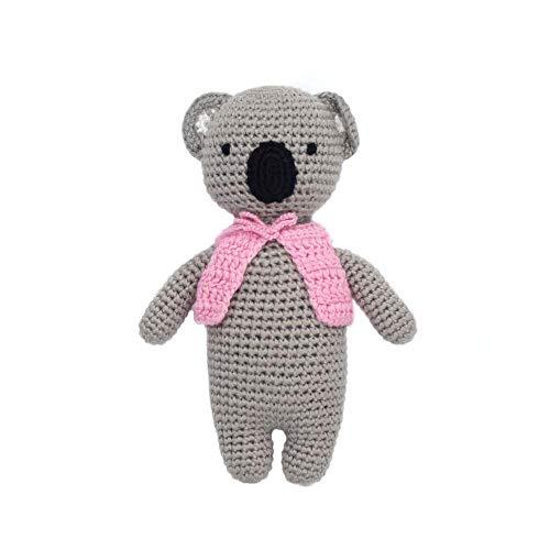 (Cheengoo Organic Bamboo Hand Crocheted Mini Doll - Kayla The Koala)