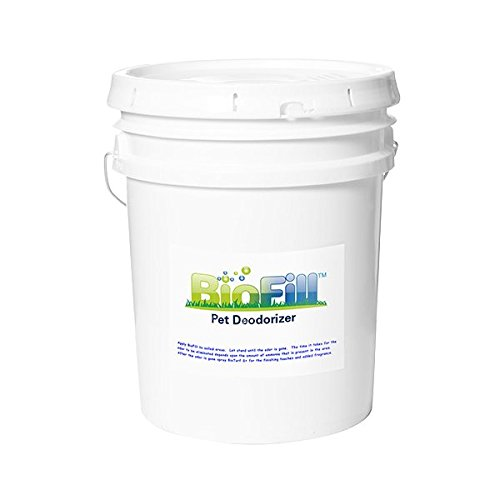 BioFill 40lb Granular Artificial Grass Pet Odor Deodorizer used to naturally filter and neutralize urine odor in turf suraces. Granules set in turf blades and immediatly absorbs urine preventing odor!