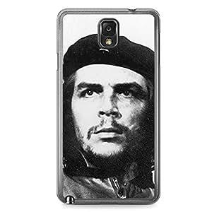 Che Guevera Samsung Note 3 Transparent Edge Case - Heroes
