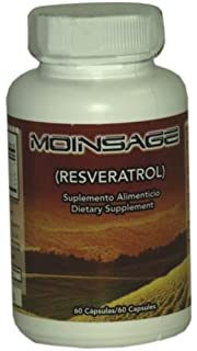 Global Marketing Moinsage(Resveratrol) Dietary Supplement - 60 Capsule