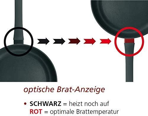 Schulte-Ufer 452280charisme I Poêle à Frire Poêle Fonte Aluminium Induction Ø 20Cm, 1638–20, Acier Inoxydable, Argent, 25cm