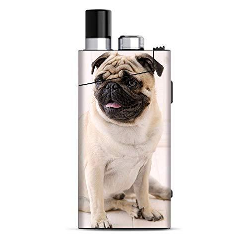 (Skin Decal Vinyl Wrap for Smok Trinity Alpha Kit | Vape Stickers Skins Cover Pug Mug, Cute Pug)