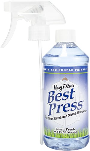 Mary Ellen Products Best Press Linen Fresh Spray Starch, 16 Ounce