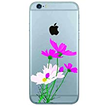 Qissy®TPU Daffodils Pattern Silicone Case Cover for iphone6 plus/iPhone6S plus