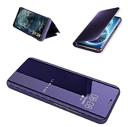 Funda Samsung Galaxy J2 Pro 2018,Clear View Cover Funda Flip ...