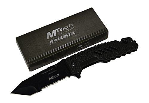 Rogue-River-Tactical-Exclusive-Mtech-Black-Spring-Assisted-Pocket-Knife-Military-Special-Forces-G10-Handle-Sharp-Tanto-Blade-Folding-Rescue-Knives-Multitool
