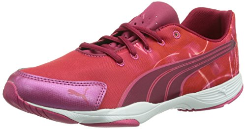 Puma femme Rouge WnS Graphic Flx Cerise Chaussures fitness White de 03 rYwrHqR