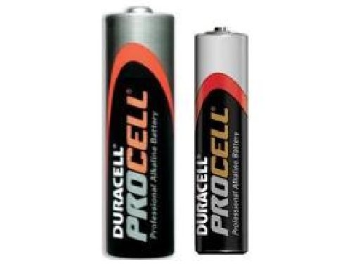 96 x AA & 96 x AAA Duracell Procell Alkaline Battery Combo