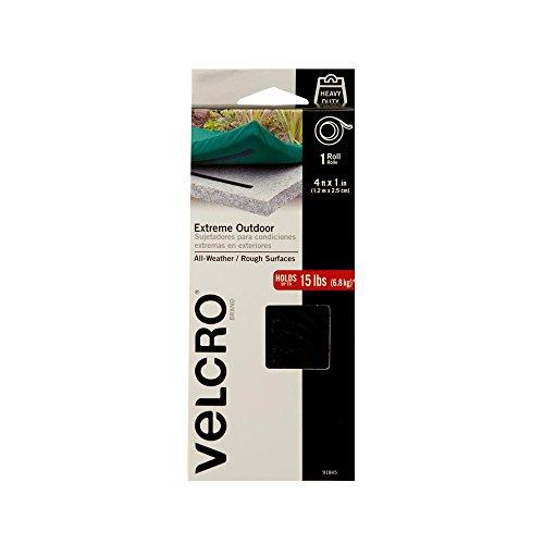 VELCRO Brand Extreme Outdoor Black