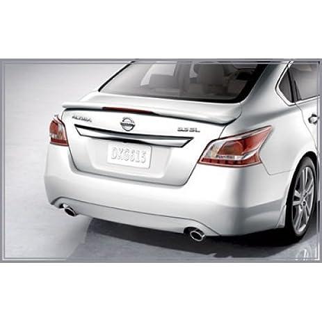 2013 Nissan Altima Sedan Rear Spoiler (Metallic Slate) 999J1 UZKBC