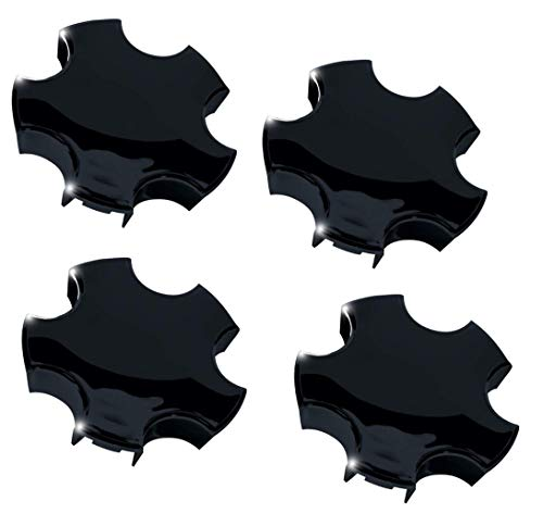Corvette Wheel Black - Corvette Wheel Center Cap - Gloss Black : 2000-2004 C5 & Z06 (Set of 4 Caps)