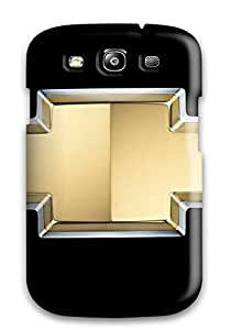 Premium Durable Chevrolet Logo Fashion Tpu Galaxy S3 Protective Case Cover