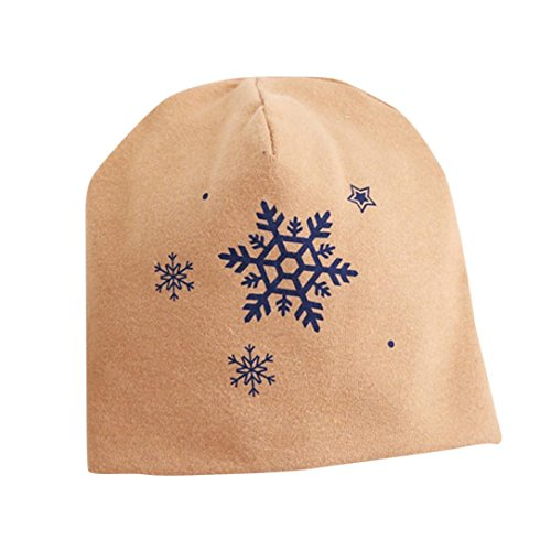Smdoxi Baby Infant Snow Hat Toddler Christmas There Is Snow On The Year (M, Khaki) ()