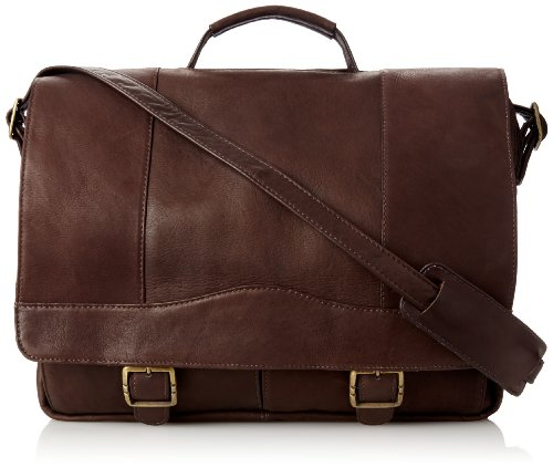 David King & Co. Porthole Brief with Inside Organizer, Cafe, One Size ()