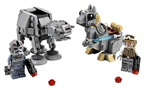 LEGO Star Wars at-at vs. Tauntaun Microfighters 75298 Building Kit; Awesome Buildable Toy Playset for Kids Featuring…