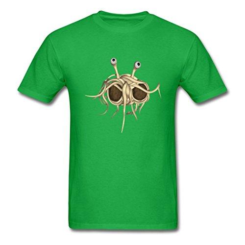 LoveTS Creative Men's Flying Spaghetti Monster T-Shirts XX-Large ()