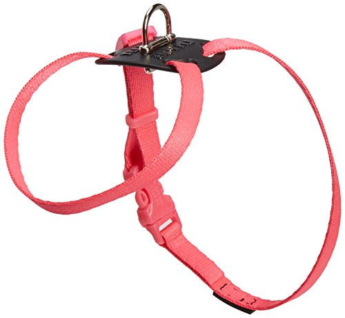 Image of Coastal Pet Products DCP248NPK Nylon Li'l Pals Adjustable Right Dog Harness, Neon Pink