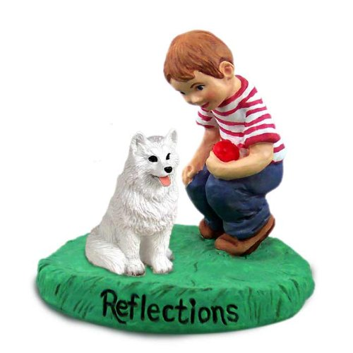 Conversation Concepts American Eskimo Reflections w/Boy ()