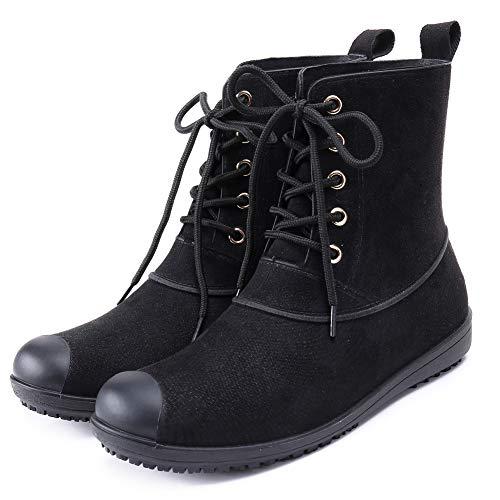 lace design rain boots - 9