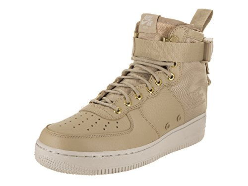 NIKE Men's SF AF1 Mid Mushroom/Mushrooom Light Bone Basketball Shoe 11 Men - San Francisco Premium Outlets