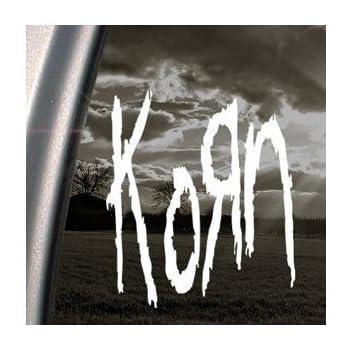 2 Korn vinyl stickers decals rock band