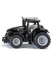 siku 1397, DEUTZ-FAHR TTV 7250 Warrior, metaal/kunststof, zwart, speelgoedtractor voor kinderen