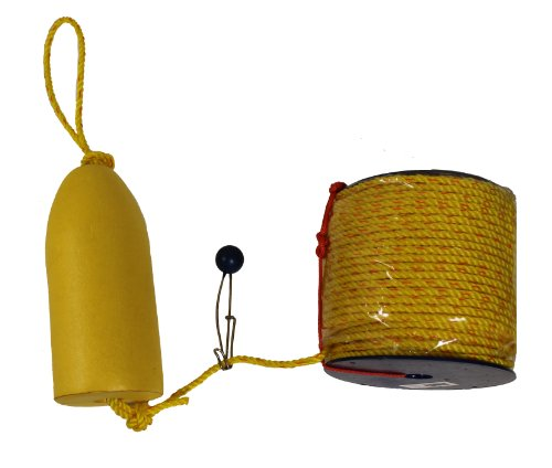 KUFA 400' polyster rope &11'' yellow float combo FYP-400