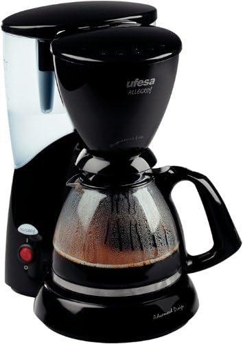 Ufesa CG7225 Allegro, Negro, 800 W, 230 V, 230 MB/s, 50 Hz, 340 x 250 x 190 mm - Máquina de café: Amazon.es: Hogar