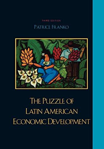 PUZZLE OF LATIN AMERICAN ECONOMIC DE 3ED