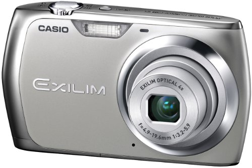 CASIO デジタルカメラ EXILIM シルバー EX-Z370SRの商品画像