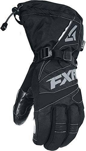 FXR Mens Fuel Glove (Black/Charcoal, Large)